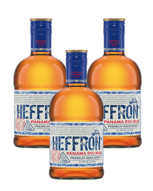 HEFFRON Panama 5yo RUM 38% 0,5L