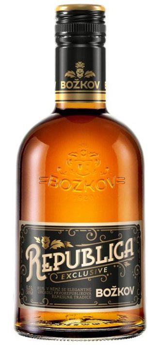 Božkov Republica Rum Exclusive 38% 0,5L | Destilerka.cz