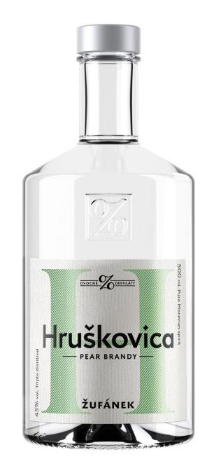 Hruškovica Žufánek 45% 0,5l