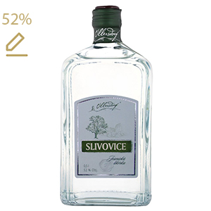 Ullersdorf Slivovice 52% 0,5L