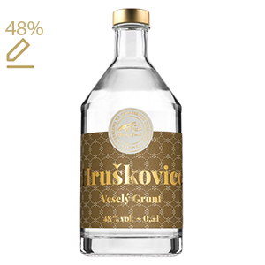 Veselý Grunt Hruškovice Williams 48% 0,5L