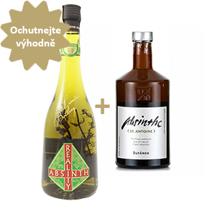 Žufánek St.Antonie + Bairnsfather Reality Absinth