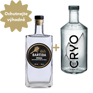 Bartida Vodka + Cryo vodka