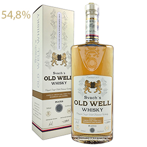 Svach´s OLD WELL whisky virgin oak 54,8% 0,5L