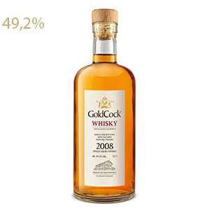 Gold Cock 2008 Single Grain Whisky 49,2% 0,7L