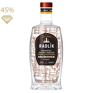 Radlík Hruškovice Williams 45% 0,5L