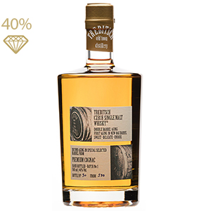 TREBITSCH Czech Single Malt Whisky PREMIUM COGNAC 40 % 0,5L