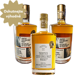 Whisky set TREBITSCH Old Town Distillery 3*0,5L