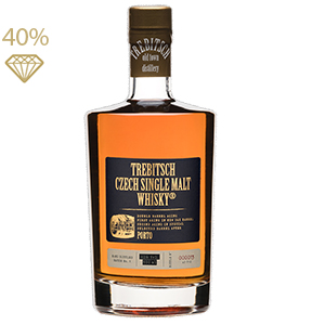 TREBITSCH Czech Single Malt Whisky PORTO 40 % 0,5L