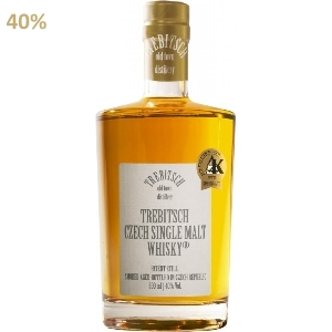 TREBITSCH Czech Single Malt Whisky 40 % 0,5L