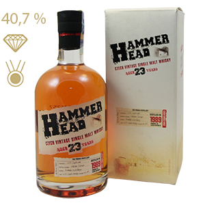 Hammer Head whisky 23yo 40,7% 0,7L