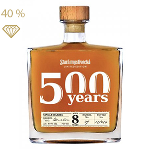 Stará Myslivecká Single Barrel 8yo limited edition 40% 0,7L