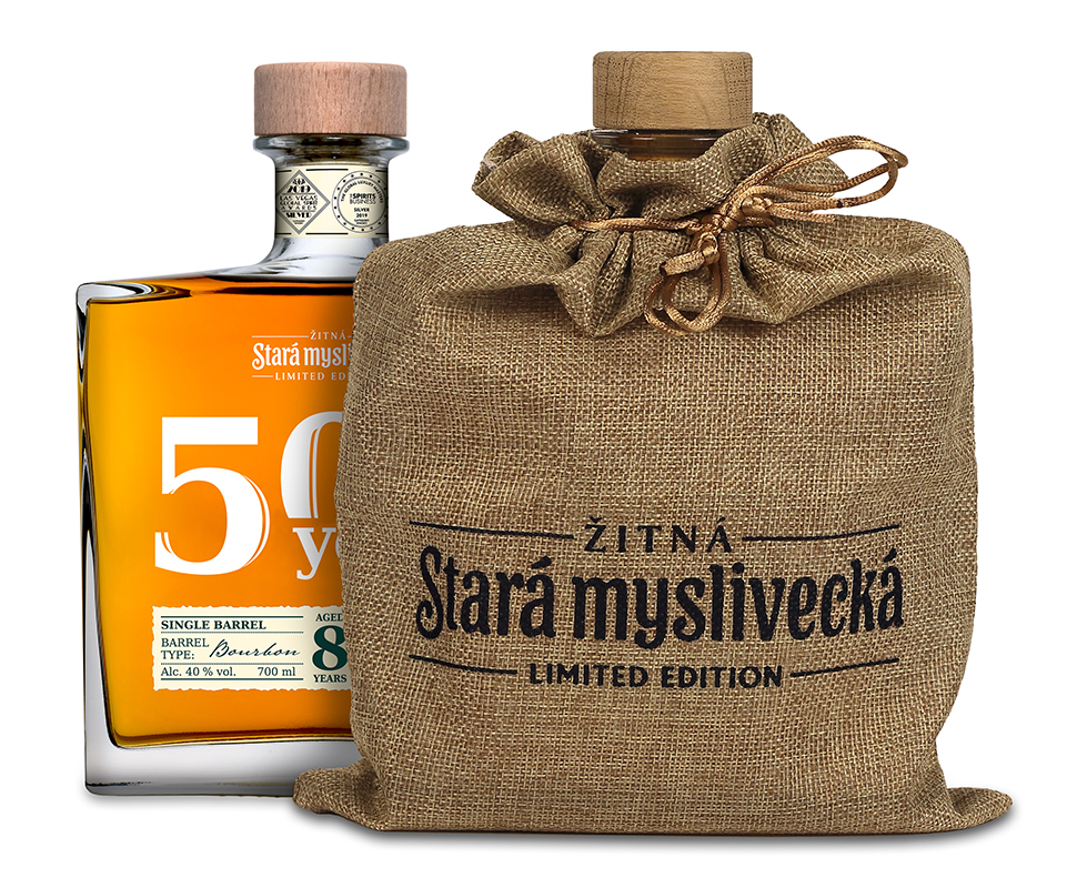 Stará Myslivecká Single Barrel Bourbone 8yo limited edition 40% 0,7L