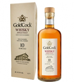 Gold Cock 10yo single malt whisky