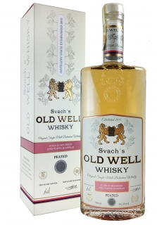 Svach´s OLD WELL whisky Bourbon and Porto barrels 46,3% 0,5L - nakouřená 0,5L