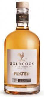 Gold Cock Peated whisky 49,2% 0,7L (nakouřená)